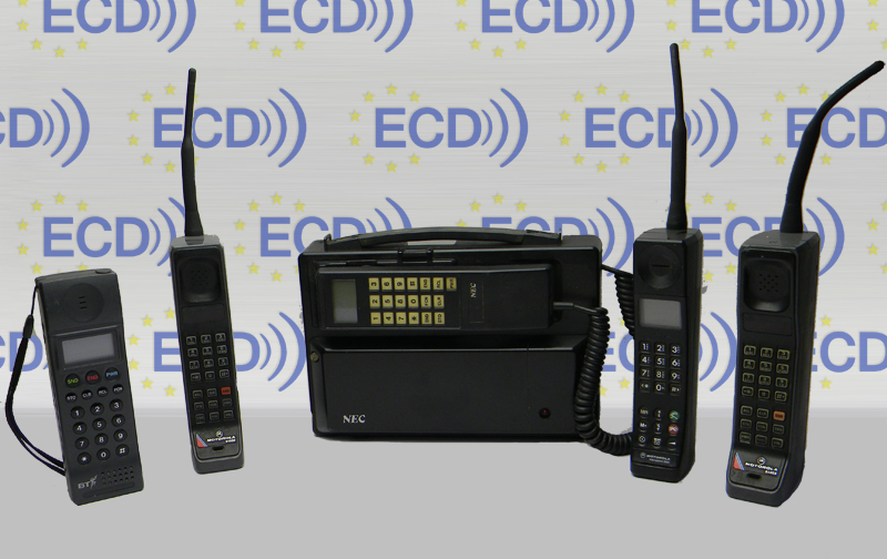Panasonic NEC 4400 Prop Hire Old Mobile Phones