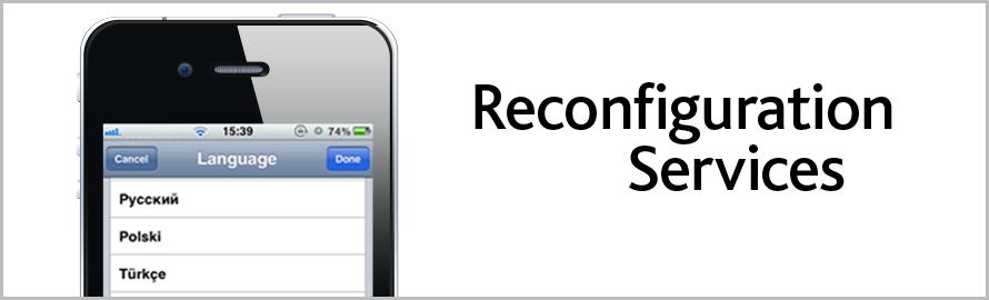 Reconfiguration Services